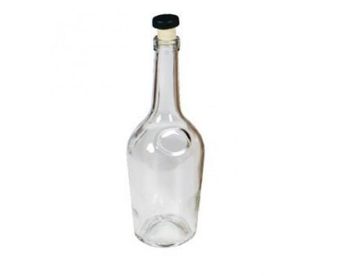 Бутылка коньячная 0,5 с пробкой