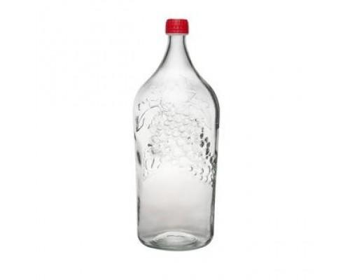 Бутыль винная Виноград 2 литра