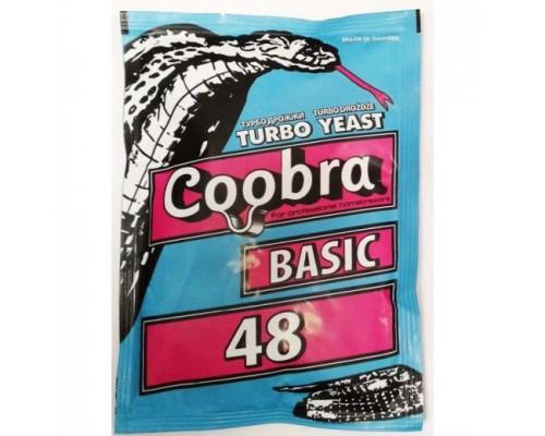 "СПИРТОВЫЕ ДРОЖЖИ ""COOBRA"" BASIC 48, 120 ГР"