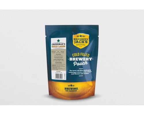 MANGROVE JACK'S TRADITIONAL SERIES CROSSMAN'S GOLD LAGER 1,8 КГ